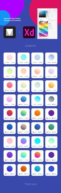 "Check out this @Behance project: ""A complete Material Design color palette plus gradients"" https://www.behance.net/gallery/51072555/A-complete-Material-Design-color-palette-plus-gradients"