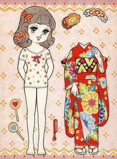 paper dolls japanese - Google Search