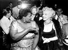 marilyn monroe and billie holiday