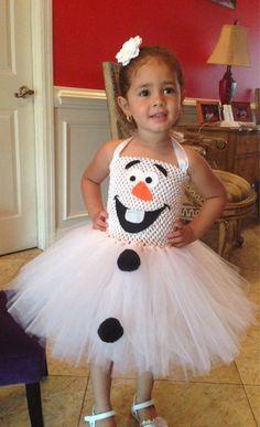Olaf Tutu Dress-Costume by KarelysKreations on Etsy
