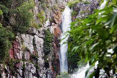 Cachoeira Capivara, Cavalcante - GO. Maio/2015 por Yamana Diniz.