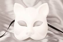 Blank Venetian Masks To Decorate Range Of Sticks For A Masquerade Masks  Blank Undecorated Masks