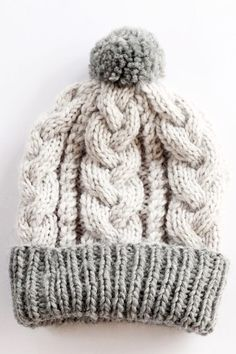 Baby Boy Knitting Patterns Free, Cable Knitting Patterns, Baby Hat Patterns, Loom Knitting, Free Knitting, Baby Knitting, Crochet Baby, Baby Beanie Hats, Knitting Projects