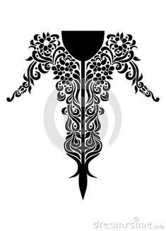 Indian Tattoo Design, Diy Resin Art, Dream Boy, Neck Design, Indian Style, Designer Wear, Tribal Tattoos, Laser Cutting, Indian Fashion