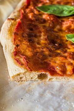 pizza de masa madre