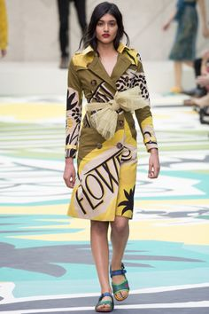 The Top 10 Trends of Spring 2015: The Ultimate Fashion Week Cheat Sheet - No Wallflowers - Vogue.com - Burberry Prorsum SS15