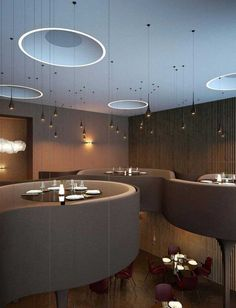 15 Innovative Interior Designs for Restaurants Using sticks is the main idea of this design as you can find sticks which are stuck together together to give you that shape and it imitates the bird's nest. The restaurant also have extraordinary chairs and the lamps look like rain. - See more at: http://www.pouted.com/15-innovative-interior-designs-for-restaurants/#sthash.abVbgmQa.dpuf