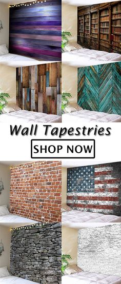 SHOP THE COLLECTION!Add instant style to your home with easy to hang wall tapestries.Available in a variety of points like brick or wood textures,beach or forest scenes,there's a tapestry for every room and every style.Shop home decor at dresslily#home