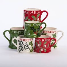 Discover our very best Christmas presents, for everyone you love. From bespoke jewellery to personalised gifts, unique homeware and more. Personalized Christmas Mugs, Unique Christmas Gifts, Christmas Presents, Personalized Gifts, Unique Gifts, Holiday Decor, Winter Holidays, Happy Holidays, Christmas Holidays