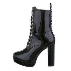 Fekete szőrmés csizma Női ruha webáruház, női ruhák online
