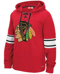 Reebok Men s Chicago Blackhawks Jersey Hoodie Blackhawks Jerseys 0905cde59