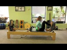 Advanced Pilates Reformer Jumpboard & Miniball - YouTube