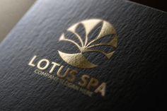 Lotus Spa Logo by Josuf Media on Creative Market