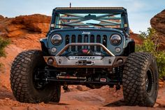 """TeraFlex Jeep Build: 2012 JK Sport (RAW) 1.5"""" Lift Kit, 39"""" tires, etc.  This custom one of a kind build was an unforgettable experience.  Click to view the entire build process of this famous bad boy!"""