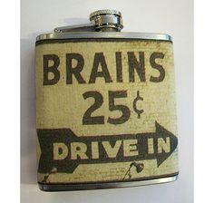 brains flask...