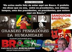 Dilma com o seu dilmês