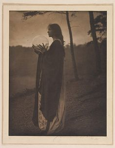 The Bubble, photo by Clarence H. White, 1898