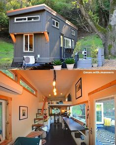 regram @man.with.manners Tiny House entrepreneurs  The current financial crisis in our nation has fueled the growth of the tiny house movement. For thousands who lost their homes due to foreclosure or unemployment tiny houses became an attractive option. With their low cost and relative ease of construction tiny houses are being adopted as shelter for the homeless in Eugene OR Olympia WA Ithaca NY and other cities. Communities of tiny houses can offer residents a transition towards…