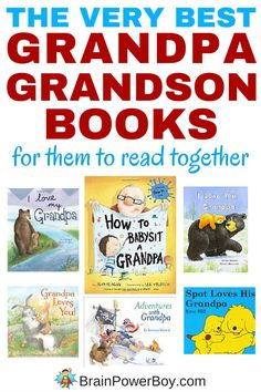 Here is your list of the very best grandpa and grandson books! Perfect for them to read together or to give as a gift. Click to see the list.