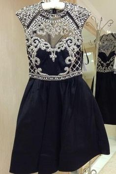 Prom Dress Princess, Beaded Navy Blue High Neck Open Back Taffeta Homecoming Dress Beautiful Prom Gown,Cocktail Dress Shop ball gown prom dresses and gowns and become a princess on prom night. prom ball gowns in every size, from juniors to plus size. 2 Piece Homecoming Dresses, Elegant Bridesmaid Dresses, Plus Size Prom Dresses, Elegant Dresses, Prom Gowns, Party Dresses, Graduation Dresses, Dresses Uk, Sweater Dresses