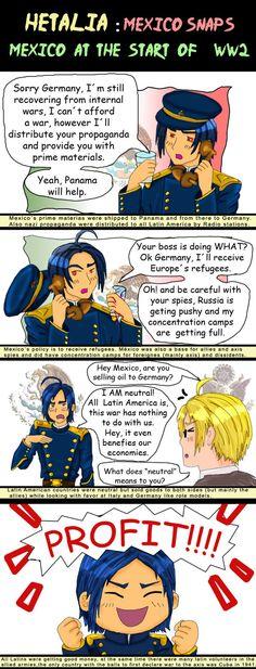 Hetalia Mexico World War 2 -A by chaos-dark-lord on DeviantArt