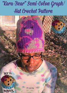"SICK LIL MONKEYS: The ""Kara-Bear"" Semi-Colon Hat"