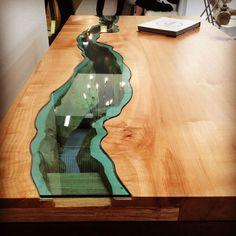 diy moebel diy wohnideen tisch aus holz und glas selber bauen