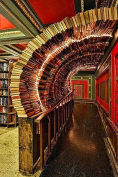 """The Last Bookstore"" in Los Angeles, CA"