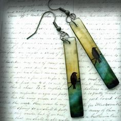 Resin Jewelry- earrings