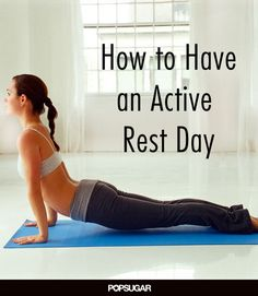 Soothe, Stretch, Rest: 5 Recovery Workout Ideas yoga for my active rest days Rest Day Workouts, Treadmill Workouts, Pilates Workout, Quick Workouts, Cardio, Fitness Tips, Fitness Motivation, Health Fitness, Fitness Workouts
