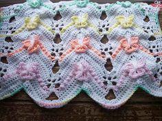 Ravelry: Rainbow Butterfly Chevron Afghan pattern by Kate Wagstaff Crochet Butterfly Free Pattern, Crochet Quilt Pattern, Crochet Blanket Patterns, Baby Blanket Crochet, Crochet Stitches, Quilt Patterns, Baby Afghans, Crochet Afghans, Crochet Blankets