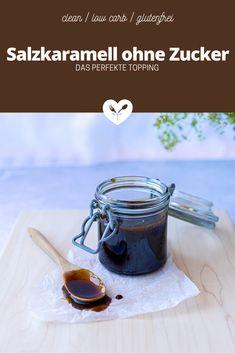 Salz Karamell ohne Zucker | Rezept | Koch mit Herz Low Carb Meal, Cupcakes, French Press, Food Styling, Food Photography, Brunch, Kitchen Appliances, Glutenfree, Toffee Sauce