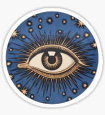 Eye. Pegatina