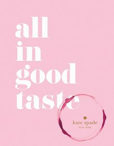 All In Good Taste Book