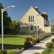 12W LED Solar Street Light | Solar Parking Lot Lights | Greenlytes