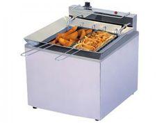 Fritadeira 13L Inox Água e Óleo - Progás PR 100E c/ 2 Cestos