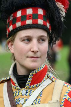 A Scottish woman in her traditional costume (Image: Martin)