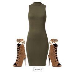 Styled for @itslydboss ❤️ New Look dress and Giuseppe Zanotti heels x #Padgram