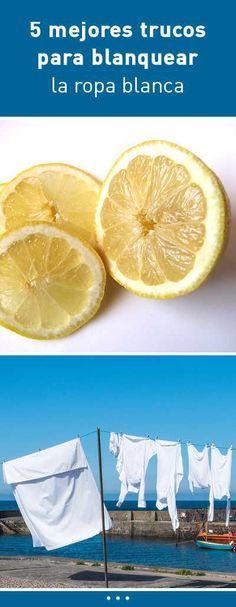 5 mejores trucos para blanquear la ropa blanca #ropa #blanquear #lavar #lavado #tips