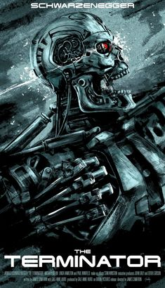 The Terminator james cameron film poster Best Movie Posters, Cinema Posters, Movie Poster Art, T 800 Terminator, Terminator Movies, Skynet Terminator, Science Fiction, Fiction Movies, King Kong