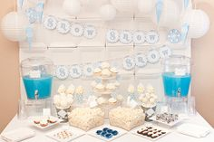 WINTER WONDERLAND Collection  Printable Party by piggybankparties, $15.00