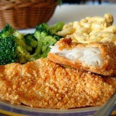 Baked Parmesean Fish Recipe - Key Ingredient