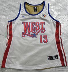 NBA 2008 All Star Game Set of Jersey for Her by Adidas, size large #Adidas #NBAAllStar