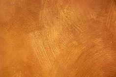 Elegant Brushed Metallic Faux Wall Texture