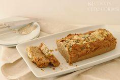 Kastanienkuchen mit Speck und Roquefort - Kastanienliebe
