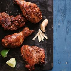 Honey-Ginger Chicken with Lime
