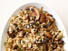 Mushroom Barley Recipe : Food Network Kitchens : Recipes : Food Network