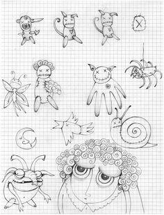 Barbara Santini - Sketches