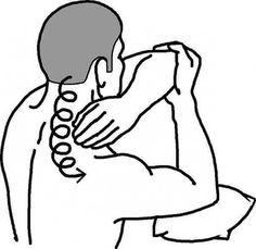 Самомассаж шеи улучшается кровоток сосудов мозга 0