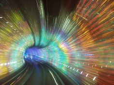 The Bund Sightseeing Tunnel   feel as if they were part the scene the trip between the sides of the ...